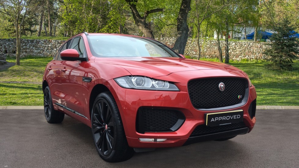 Jaguar F-PACE 3.0 Supercharged V6 S 5dr AWD Low Miles High Spec with Pan Roof Automatic Estate (2018)