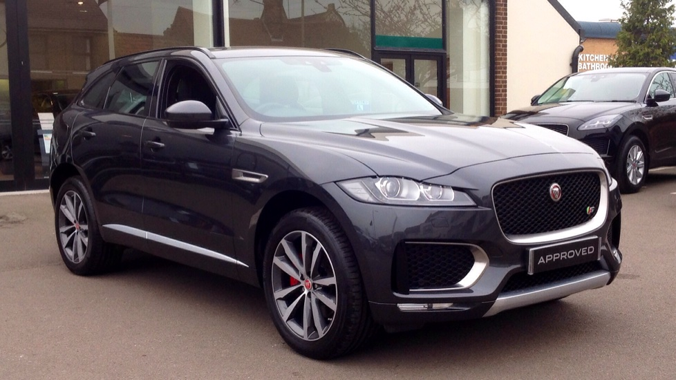 Jaguar F-PACE 3.0 Supercharged V6 S 5dr AWD Automatic Estate (2017) image