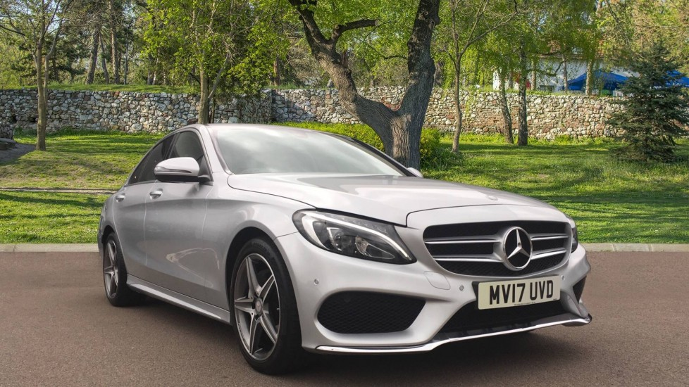 Mercedes-Benz C-Class Saloon C220d AMG Line 9G-Tronic 2.1 Diesel Automatic 4 door Saloon (2017) at Maidstone Suzuki, Honda and Mazda thumbnail image