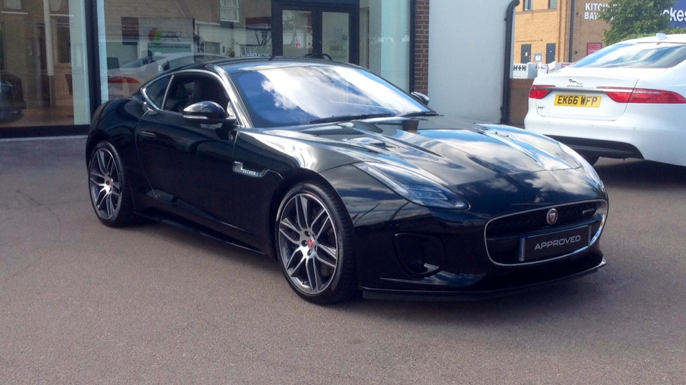 Jaguar F TYPE 3.0 [380] Supercharged V6 R Dynamic 2dr AWD Very Low Miles  Automatic 3 Door Coupe (2018) At Jaguar Brentwood