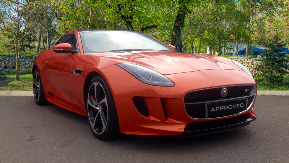 Jaguar F-TYPE 5.0 Supercharged V8 R 2dr AWD Very High Spec Automatic Coupe (2017) image