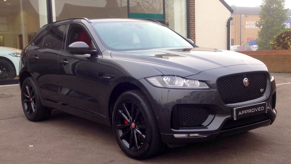Jaguar F-PACE 3.0 Supercharged V6 S 5dr AWD  Automatic 4 door Estate (2018) image