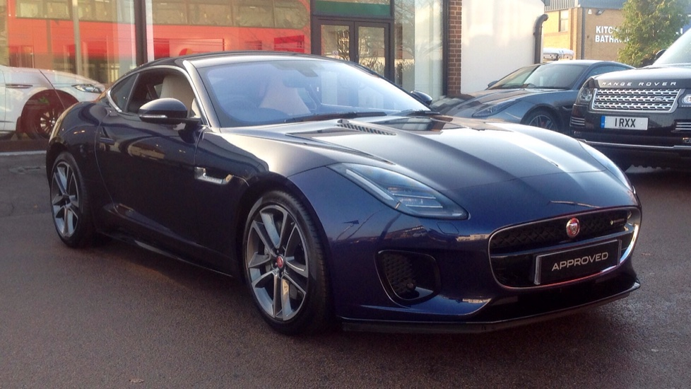 Jaguar F-TYPE 3.0 Supercharged V6 R-Dynamic 2dr Automatic 3 door Coupe (2018)