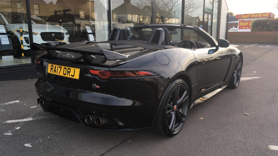 Jaguar F-TYPE 5.0 Supercharged V8 SVR 2dr AWD image 12