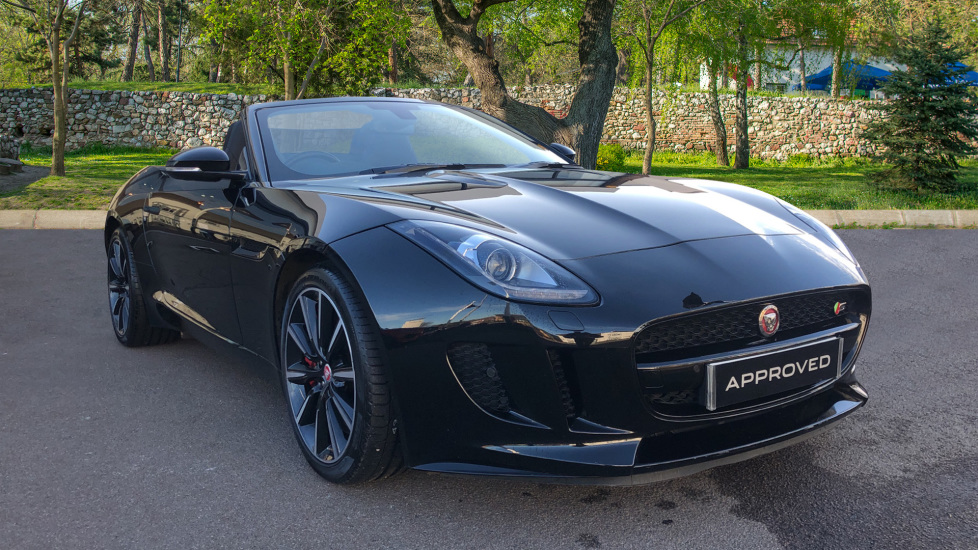 Jaguar F-TYPE 3.0 Supercharged V6 S 2dr Low Miles Automatic Convertible (2016)