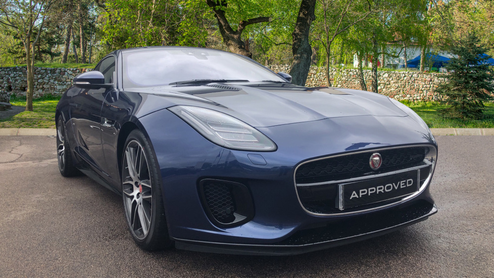 Jaguar F-TYPE Coupe 3.0 Supercharged V6 R-Dynamic 2dr Unique Special Vehicle Operations Paint  Automatic Coupe (2019)