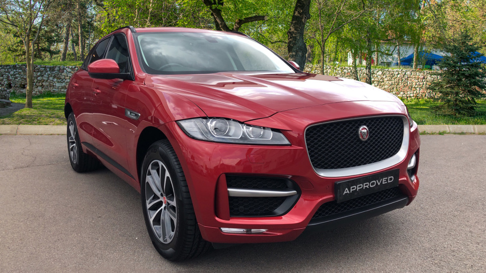 Jaguar F-PACE 2.0d R-Sport 5dr AWD Diesel Automatic 4 door Estate (2017) image