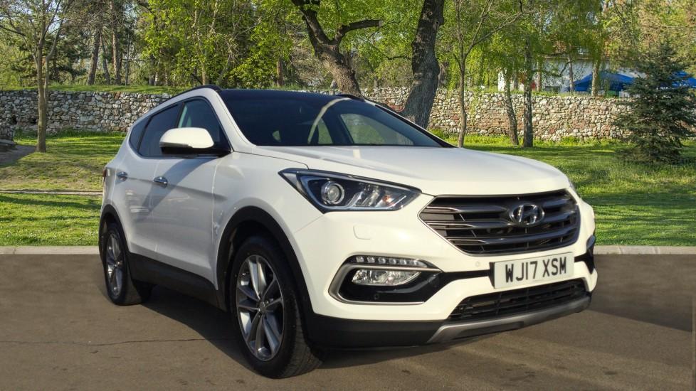 Hyundai Santa Fe 2.2 CRDi Blue Drive Premium SE [7 Seats] - Sliding Pan Roof -  Diesel 5 door Estate (2017)