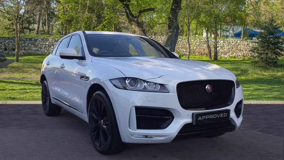 Jaguar F-PACE 2.0d R-Sport AWD - Panoramic Sunroof - 22 inch Black Alloys - Privacy -  Diesel Automatic 5 door Estate