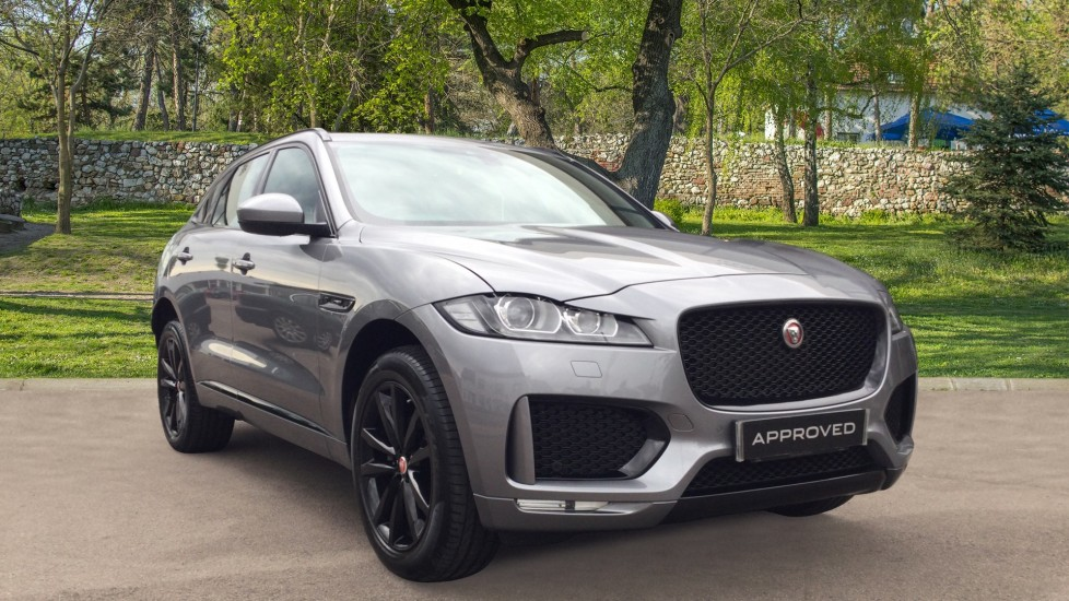Jaguar F-PACE 2.0d [180] Chequered Flag AWD - Pan Roof - Meridian Sound -  Diesel Automatic 5 door Estate