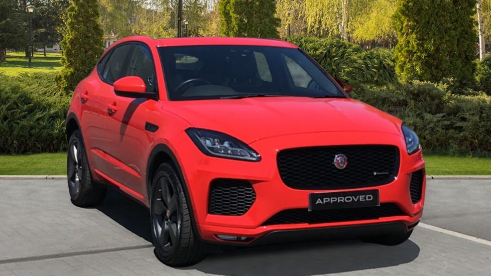 Jaguar E-PACE 2.0d [180] Chequered Flag Edition 5dr with Heated Seats and Reverse Camera Diesel Automatic Estate