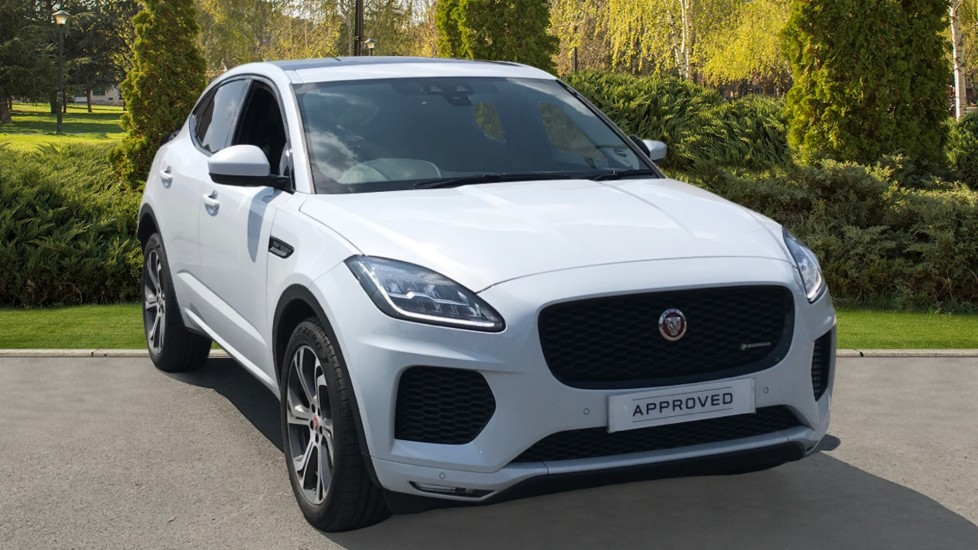 Jaguar E-PACE 2.0d [180] Chequered Flag Edition 5dr 10 inch Touch Pro screen, 20inch Style 6014 in Satin Grey Diesel Automatic Estate