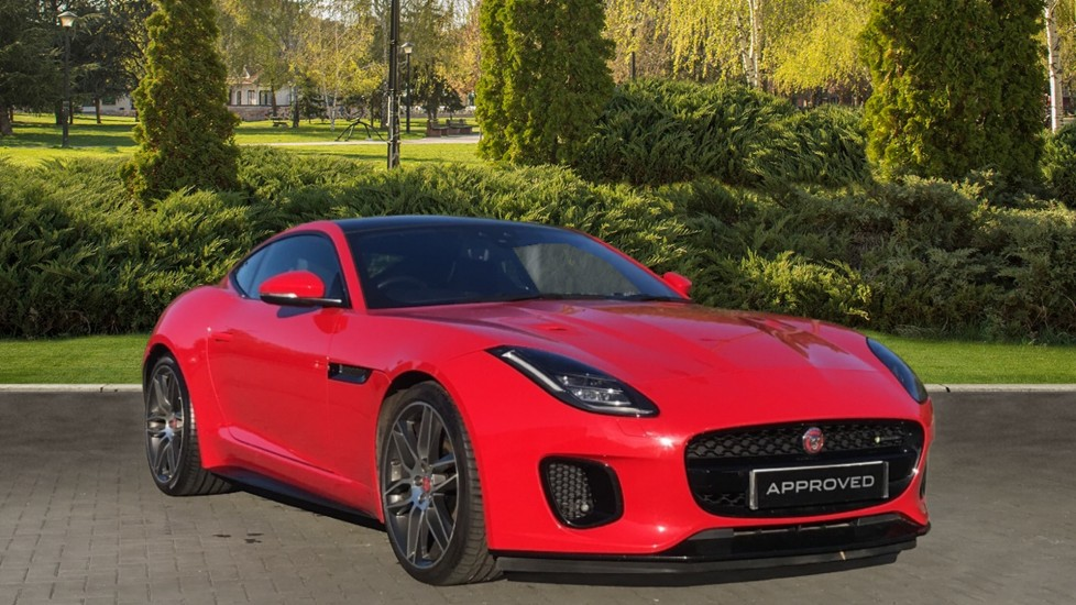 Jaguar F-TYPE 3.0 [380] Supercharged V6 R-Dynamic AWD with Panoramic Roof and 20 inch alloys Automatic 2 door Coupe