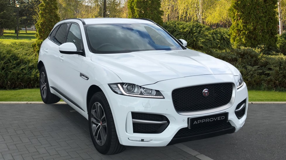Jaguar F-PACE 2.0d R-Sport AWD Rear view Camera and Heated front seats Diesel Automatic 5 door Estate