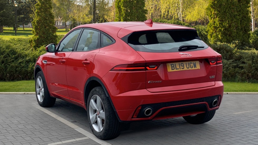 Jaguar E-PACE 2.0d 180 R-Dynamic SE Front and Rear Parking aid and Rear camera image 2