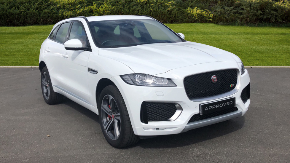 Jaguar F-PACE 3.0 Supercharged V6 S 5dr AWD Automatic Estate (2018) image