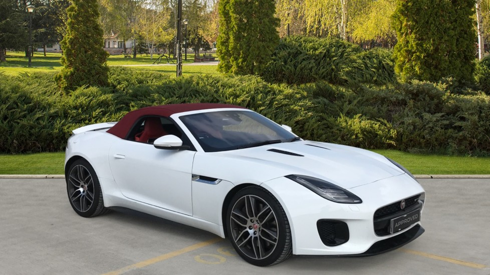 Jaguar F-TYPE 3.0 [380] Supercharged V6 R-Dynamic 2dr convertible red leather meridian surround system Automatic 5 door Convertible