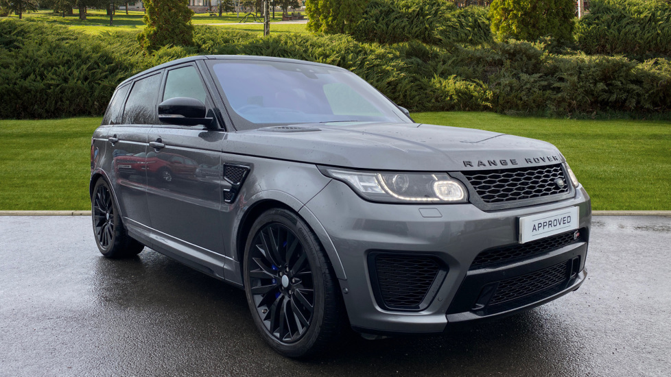 Land Rover Range Rover Sport 5.0 V8 S/C SVR 5dr Automatic Estate (2017) available from Land Rover Swindon thumbnail image