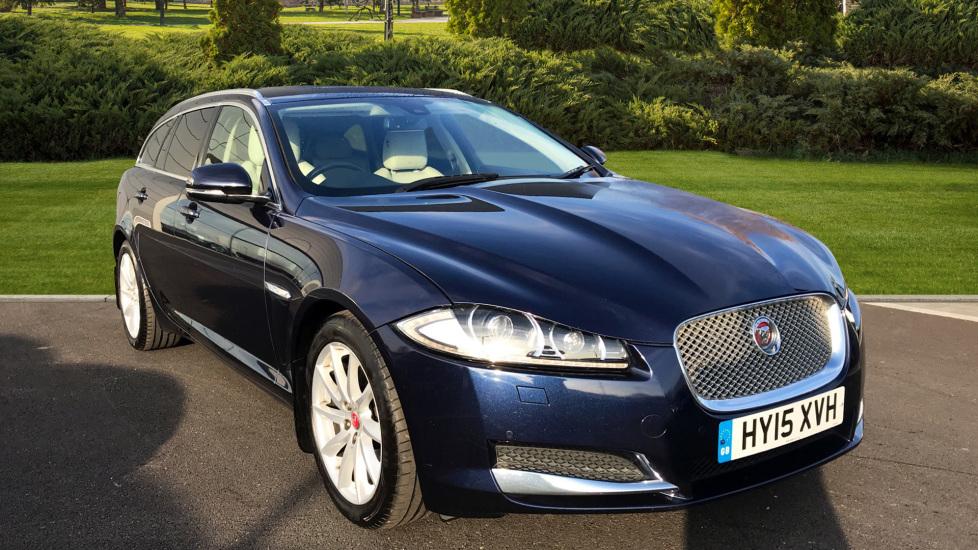 Jaguar XF SPORTBRAKE 2.2d [200] Premium Luxury 5dr Diesel Automatic Estate (2015) image