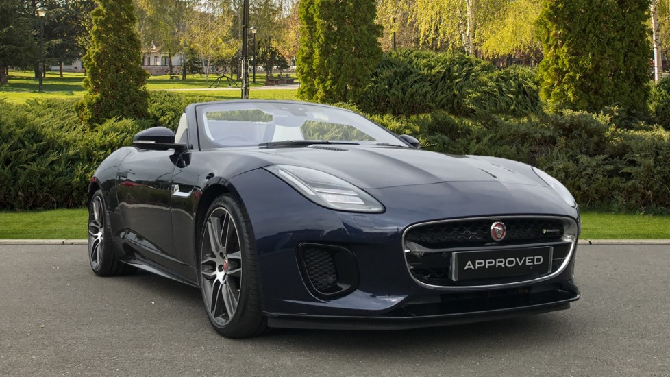 Jaguar F-TYPE 3.0 [380] Supercharged V6 R-Dynamic 2dr Automatic Convertible (2017)