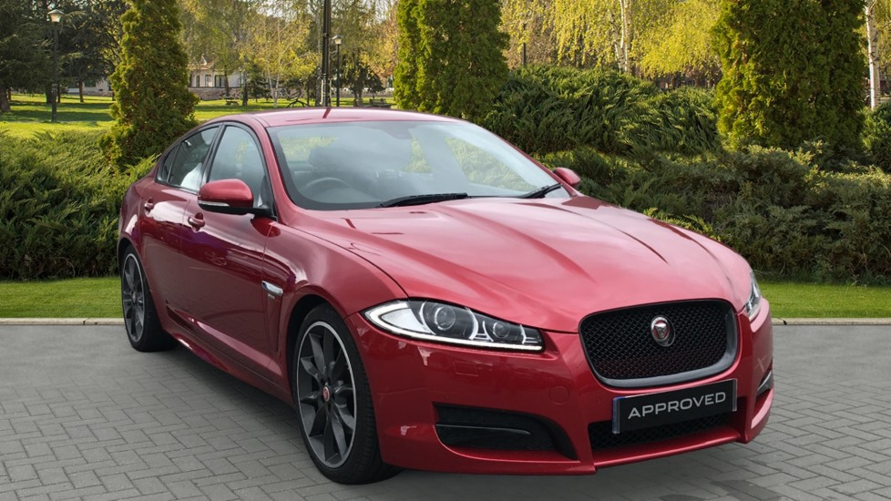 Jaguar XF 2.2d R-Sport Black Meridian surround sound system, rear view camera Diesel Automatic 4 door Saloon