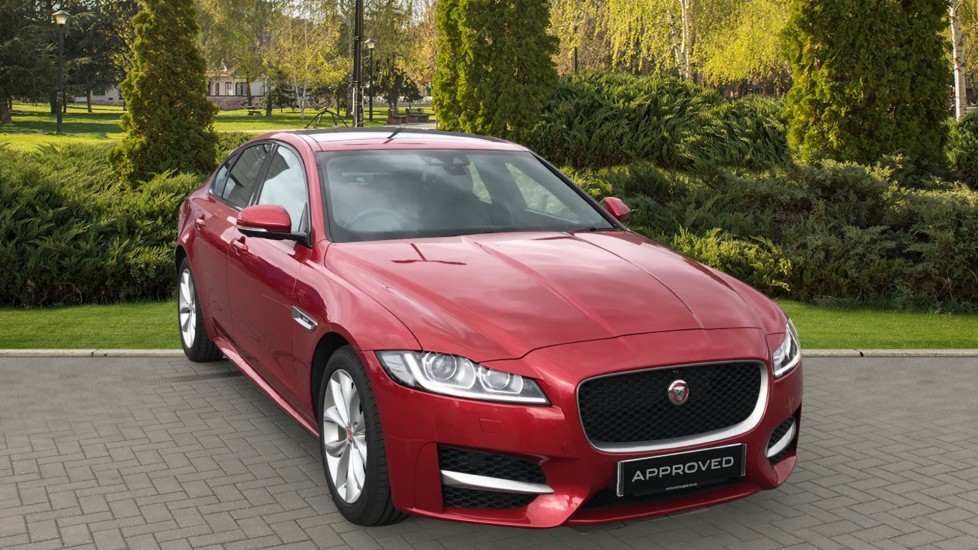 Jaguar XF 2.0d [180] R-Sport sliding Pan roof and 360 degree parking aid Diesel Automatic 4 door Saloon