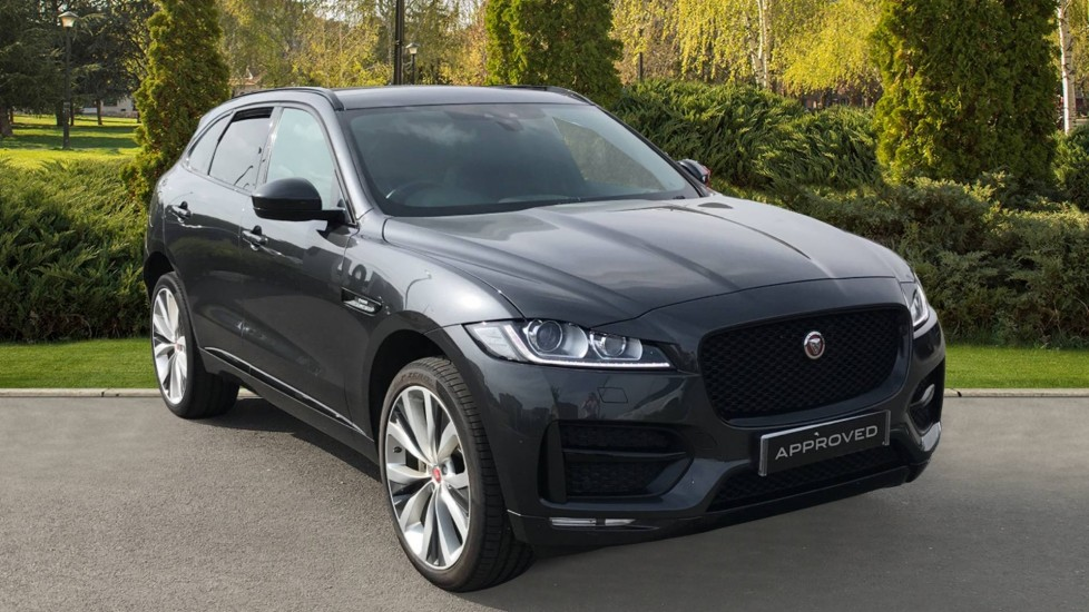 Jaguar F-PACE 2.0d [240] R-Sport AWD with a fixed panoramic roof and rear view camera  1999.0 Diesel Automatic 5 door Estate