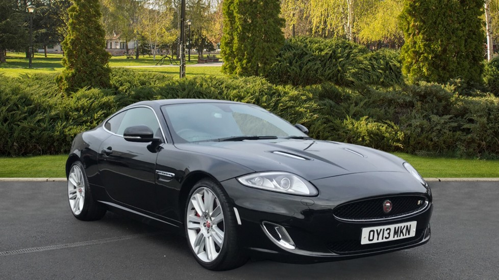 Jaguar XK 5.0 Supercharged V8 R 20 inch Alloys - 'Nevis' style, Heated and cooled front seats Automatic 2 door Coupe