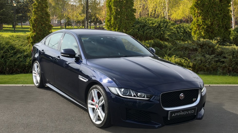 Jaguar XE 3.0 V6 Supercharged S - 360 degree Parking Aid, Cruise Control, Privacy glass Automatic 4 door Saloon