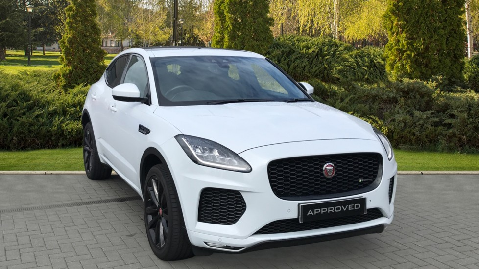 Jaguar E-PACE 2.0d [180] R-Dynamic S Fixed Panoramic roof, Rear Camera Diesel Automatic 5 door Estate