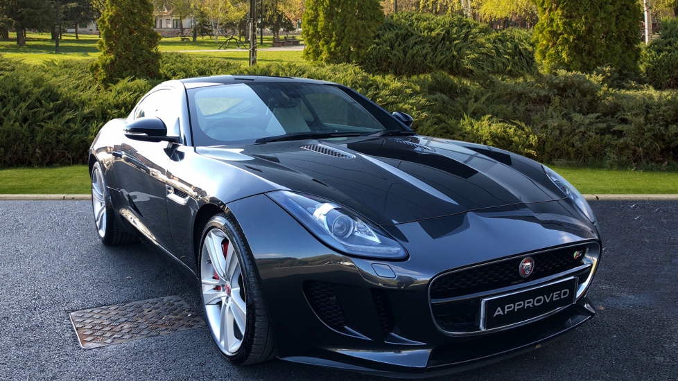 Jaguar F TYPE 3.0 Supercharged V6 S 2dr Automatic Coupe (2014) At Jaguar  Swindon