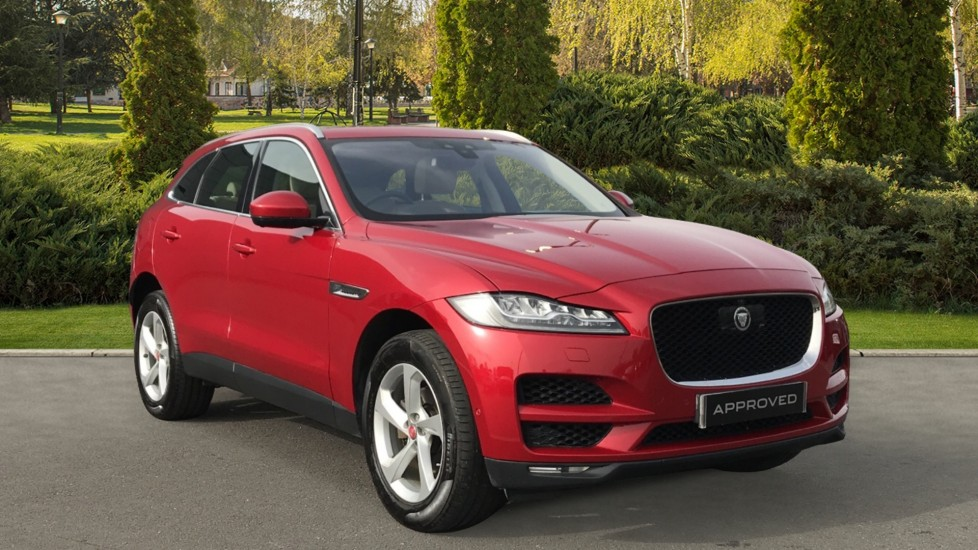 Jaguar F-PACE 2.0 Portfolio 5dr AWD Automatic Estate