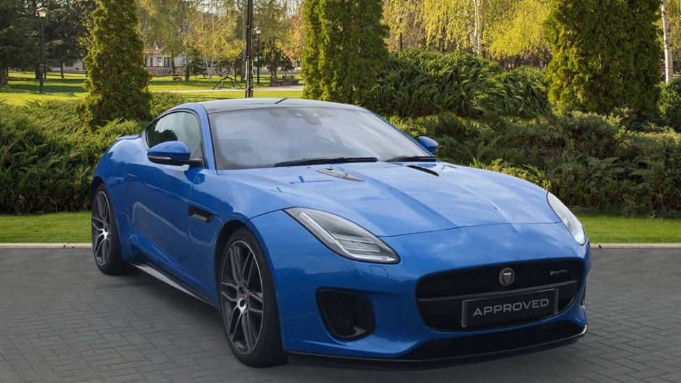 Jaguar F-TYPE Coupe 3.0 V6 Supercharged - Fixed Panoramic roof, Rear Camera, Navigation Pro Automatic 2 door Coupe