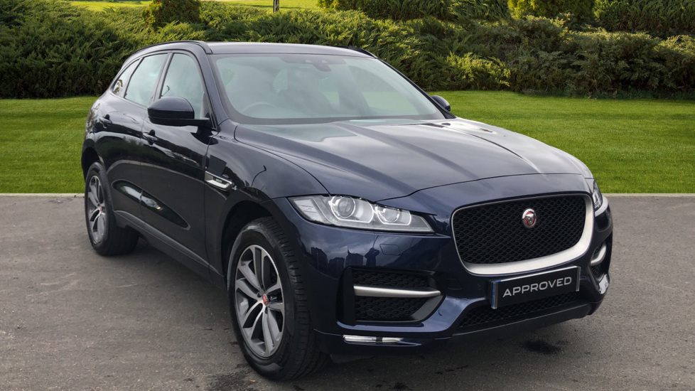 Jaguar F-PACE 2.0d R-Sport 5dr AWD Diesel Automatic Estate (2017) at Jaguar Swindon thumbnail image