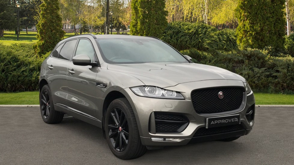 Jaguar F-PACE 2.0d R-Sport AWD 20 Inch Gloss Black Alloys and Panoramic Roof Diesel Automatic 5 door Estate