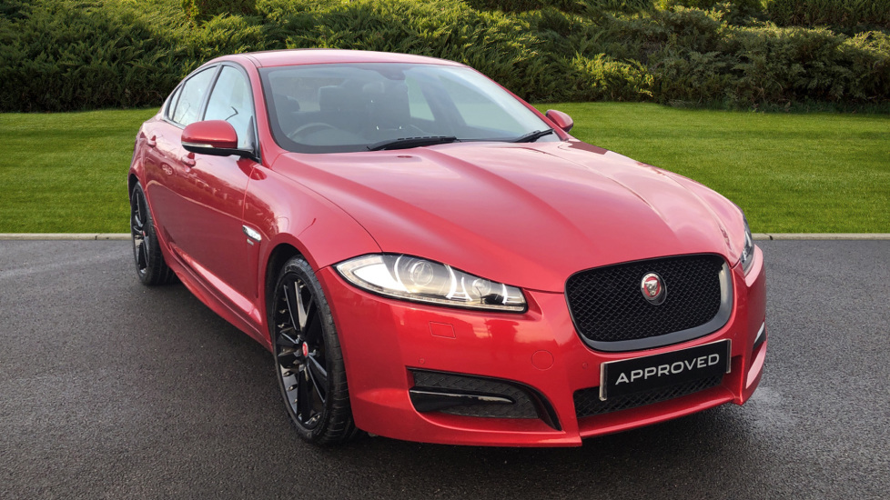 Jaguar XF 2.2d R-Sport Black Diesel Automatic 4 door Saloon (2015)