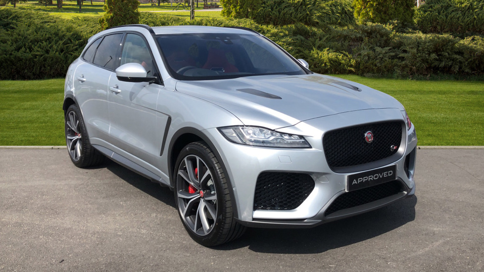 Jaguar F-PACE 5.0 Supercharged V8 SVR 5dr AWD Automatic Estate (2019) image