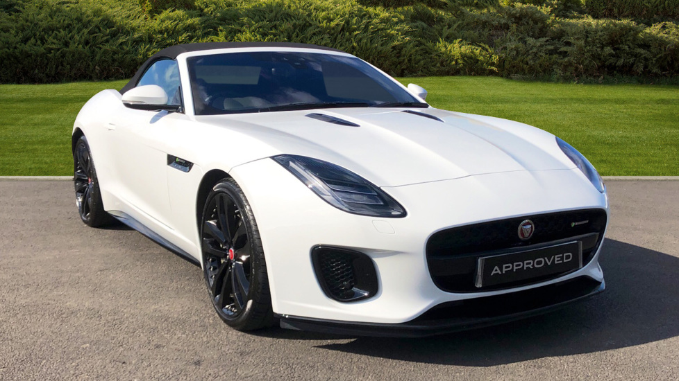Jaguar F-TYPE 3 0 Supercharged V6 R-Dynamic 2dr Automatic Convertible  (2019) at Jaguar Swindon
