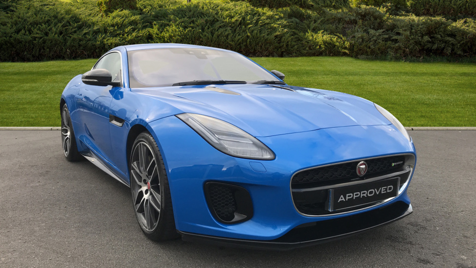 Jaguar F-TYPE 3.0 Supercharged V6 R-Dynamic 2dr Automatic Coupe (2018)