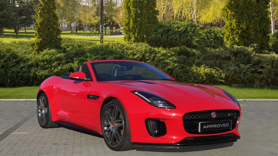 Jaguar F-TYPE 3.0 Supercharged V6 R-Dynamic Rear Camera and heated seats Automatic 2 door Convertible