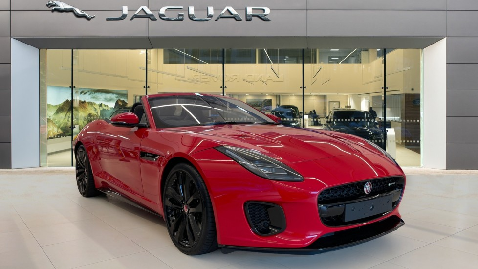 Jaguar F-TYPE 3.0 380 Supercharged V6 R-Dynamic AWD Automatic 2 door Convertible