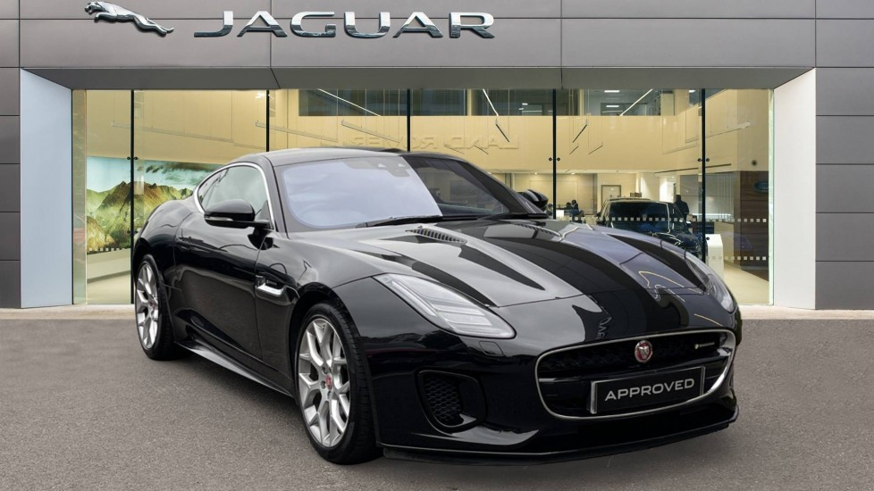 Jaguar F-TYPE 3.0 Supercharged V6 R-Dynamic Heated steering wheel and power tailgate Automatic 2 door Coupe (2019) image