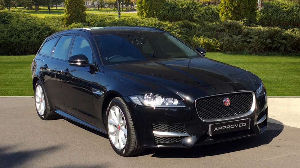 Jaguar XF 2.0d [180] R-Sport 5dr - Panoramic Roof - Heated Front Seats - Powered Tailgate -  Diesel Automatic Estate (2019)