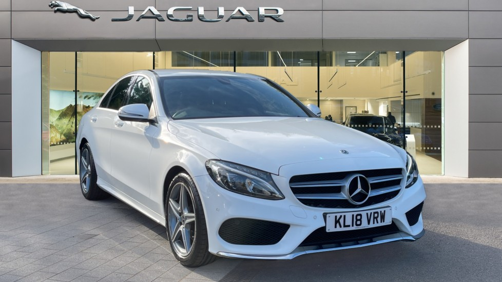 Mercedes-Benz C-Class Saloon C200 AMG Line 9G-Tronic - Navigation - Privacy Glass 2.0 Automatic 4 door Saloon
