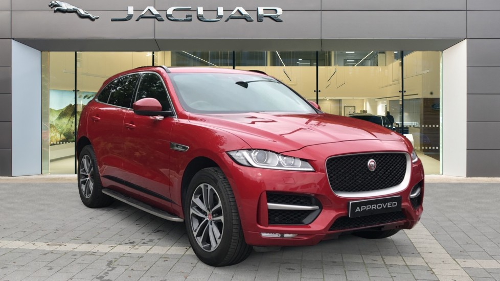 Jaguar F-PACE 2.0 R-Sport 5dr AWD Automatic Estate (2017)