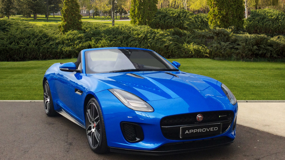 Jaguar F-TYPE 2.0 R-Dynamic 2dr Automatic Convertible (2018) available from Jaguar Swindon thumbnail image