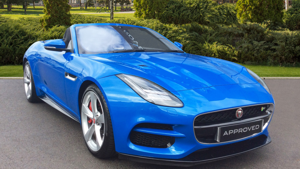 Jaguar F-TYPE 5.0 Supercharged V8 R 2dr AWD Automatic 5 door Convertible (2017) image