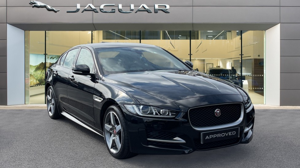 Jaguar XE 2.0 Ingenium R-Sport - Petrol with Ambient Interior Lighting and Cruise Control Automatic 4 door Saloon