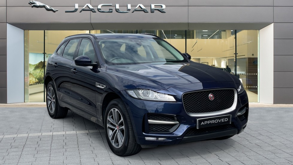 Jaguar F-PACE 2.0d R-Sport 5dr AWD - 19 inch alloys - Navigation - Cruise Control Diesel Automatic Estate
