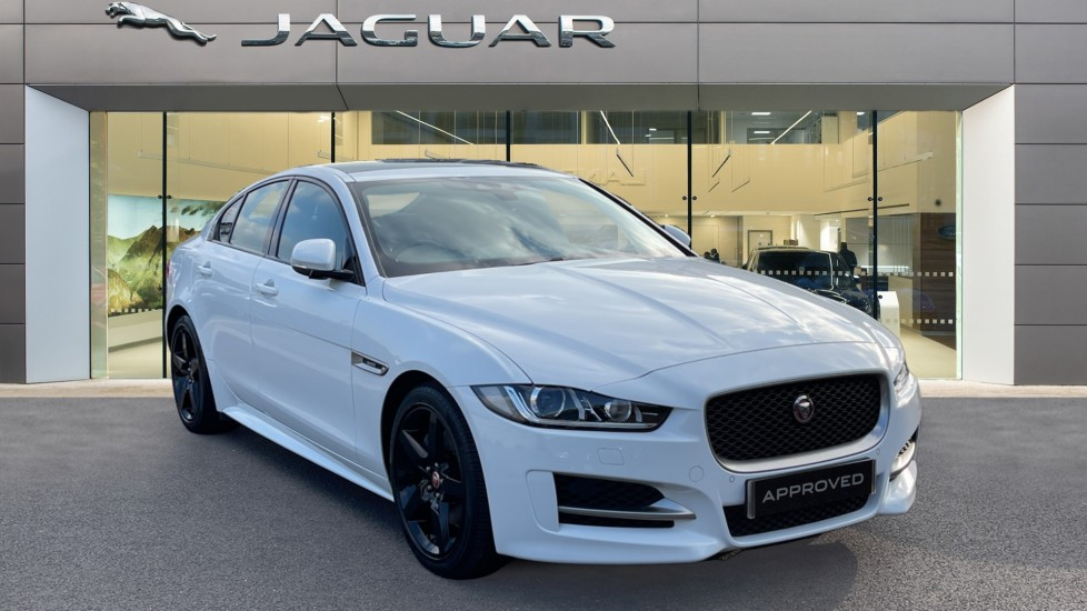 Jaguar XE 2.0d [180] R-Sport Jet/Light Oyster Leather and Sliding Panoramic Roof Diesel Automatic 4 door Saloon